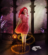 Mystical Digital Art Prints - Wicked Print by Karen Koski