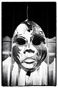 Louisiana Artist Prints - Wicked Mask Print by John Rizzuto