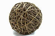 Box Print Originals - Wicker Ball by Michael Waters