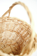 Wicker Basket Prints - Wicker basket Print by Gaspar Avila