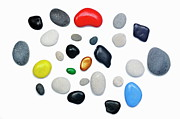 Variation Art - Wide choice of colorful pebbles by Sami Sarkis