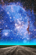 Small Magellanic Cloud Prints - Wide Open Print by Larry Landolfi