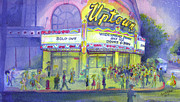 Rock Guitar Paintings - Widespread Panic Uptown Theatre  by David Sockrider