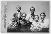 Race Discrimination Framed Prints - Widow And The Surviving Children Framed Print by Everett