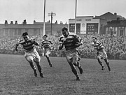 Rugby Union Art - Wigan Dash by Hewitt Vanderson