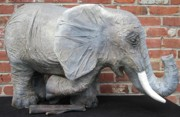 Paper Mache Sculptures - Wild African by Oz Freedgood