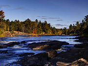 Wild And Scenic Prints - Wild and Scenic Menominee River Print by Thomas Young