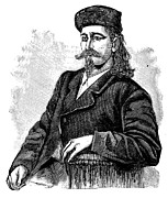 Wild Bill Hickok Photos - Wild Bill Hickock (1837-1876) by Granger