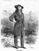 Wild Bill Hickok Photos - Wild Bill Hickok (1837-1876) by Granger