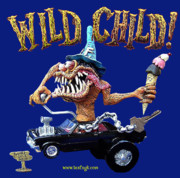 Retro Sculptures - Wild Child Resin Kit by Geoff Greene