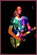Wild Rock 'n Roll Print by Linda  Parker