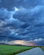 Montana Digital Art - Wild Skies over Montana by Jeff Krogstad