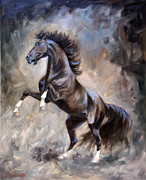 Wild Horse Metal Prints - Wild Thing Metal Print by Jeanne Newton Schoborg