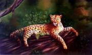 Worldwide Art Gallery Art - Wild Tiger by Shanju Azhikode