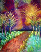 Pathway Pastels - Wild Trees by Michelle Runner