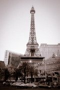 Las Vegas Prints - Wild West Eiffel Tower Print by Andy Smy