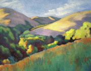 Berkeley Originals - Wildcat Hillside Late Afternoon by Linda Ruiz-Lozito