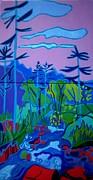 Wildcat River Jackson Nh Print by Debra Bretton Robinson