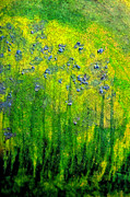 Van Pastels Prints - Wildflower Impression by jrr Print by First Star Art