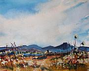 Laurie Salmela - Wildflowers at the Black...