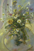 Date Paintings - Wildflowers by Tigran Ghulyan