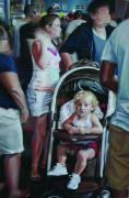 Figural Pastels Originals - Wildwood Boardwalk by Paul Autodore