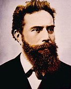 Jt History Photos - Wilhelm Conrad Rontgen 1845-1923 by Everett