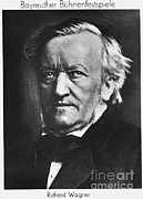 Harmonies Framed Prints - Wilhelm Richard Wagner, German Composer Framed Print by Omikron