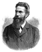 Wilhelm Framed Prints - Wilhelm Roentgen, German Physicist Framed Print by