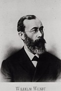 Scientists Framed Prints - Wilhelm Wundt 1832-1920, German Framed Print by Everett