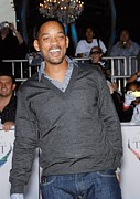 Nokia Theatre La Live Posters - Will Smith At Arrivals For Michael Poster by Everett