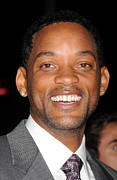 Premiere Metal Prints - Will Smith At Arrivals For Premiere Metal Print by Everett