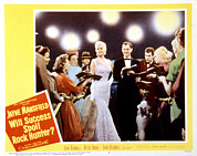 1957 Movies Photo Prints - Will Success Spoil Rock Hunter, Jayne Print by Everett