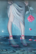 Stilettos Paintings - Will You be my Valentine by Susi Galloway