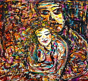 Couple Mixed Media - Will You Still Love Me  by Natalie Holland