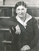 Willa Cather At The Time She Wrote Lucy Print by Everett