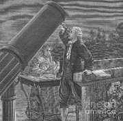 Technical Photo Posters - William And Caroline Herschel, German Poster by Science Source