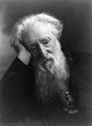 Portrait Of Old Man Framed Prints - William Booth (1829-1912) Framed Print by Granger