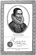 Autograph Framed Prints - William Camden (1551-1623) Framed Print by Granger