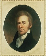 Purchase Posters - William Clark 1770-1838 . Portrait Poster by Everett