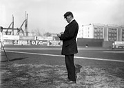 Major League Baseball Photo Prints - William Dinneen 1910 Print by Stefan Kuhn