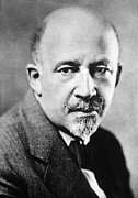 E Black Photo Prints - William E.b. Du Bois Print by Granger