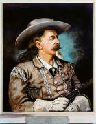 Buffalo Bill Cody Framed Prints - William F. Cody Framed Print by Granger