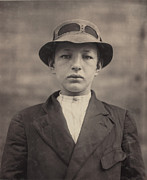 1910s Portrait Prints - William Gross, Newsboy, 15 Years Old Print by Everett