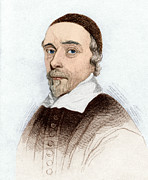 Harvey Posters - William Harvey, English Doctor Poster by Sheila Terry