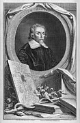 1600s Posters - William Harvey, English Physician Poster by Middle Temple Library