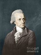 Technical Photo Framed Prints - William Herschel, German Astronomer Framed Print by Science Source