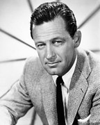 Colbw Framed Prints - William Holden, 1960 Framed Print by Everett