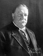 Chief Justice Framed Prints - William Howard Taft, 27th American Framed Print by Science Source