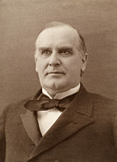 William Mckinley (1843-1901). 25th President Of The United States. Photographed In 1896 Print by Granger